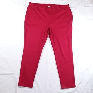 Faded Glory Pants - Red Women's Jegging NWT